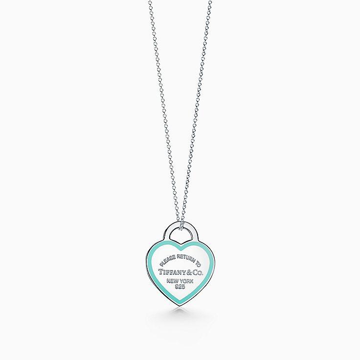 Return to Tiffany™:心形吊飾鏈墜