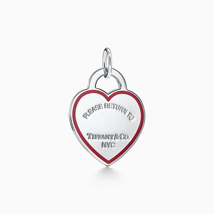 Return to Tiffany™:Подвеска-шарм в форме сердца
