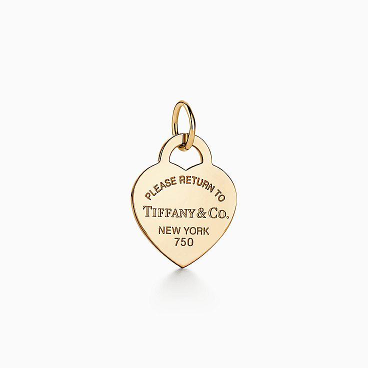 Return to Tiffany™: berloque de coração