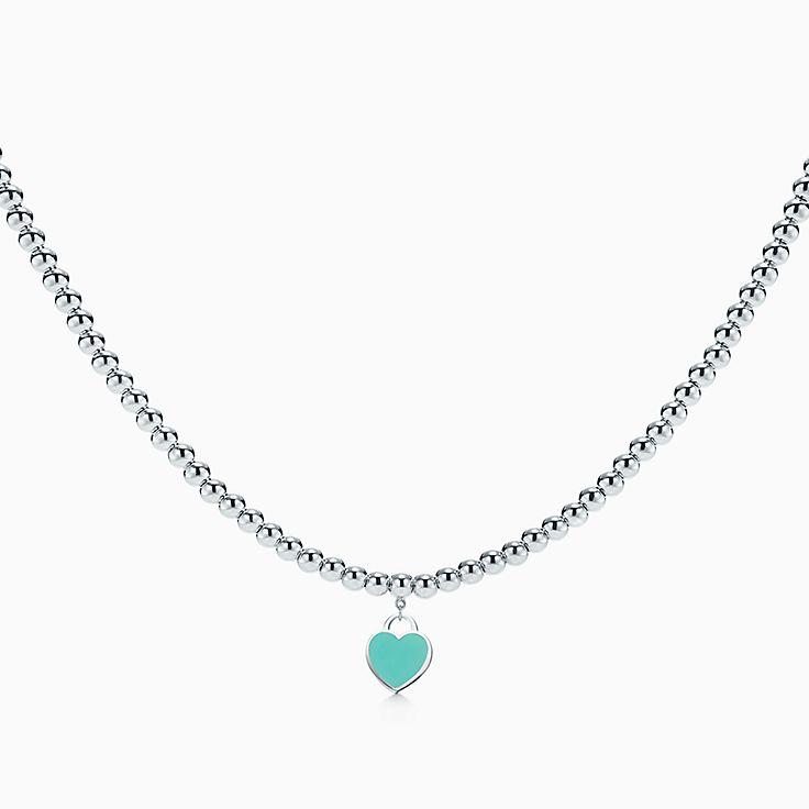 Return to Tiffany™: collar con cuentas