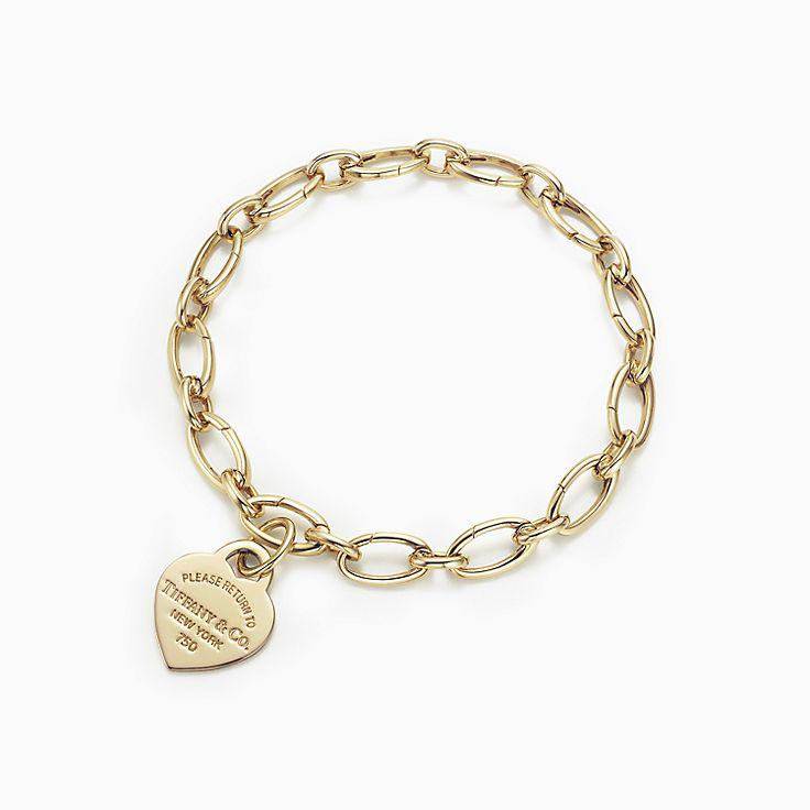 Return to Tiffany™ heart tag Charm and bracelet