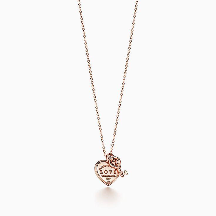 Return to Tiffany™: подвеска-ключ Love с сердцем