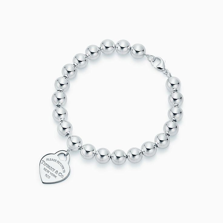 Return to Tiffany™:Armband mit Herzanhänger