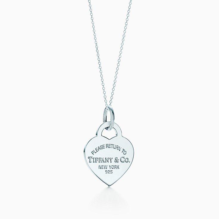 Return to Tiffany™:Charm plaque Cœur
