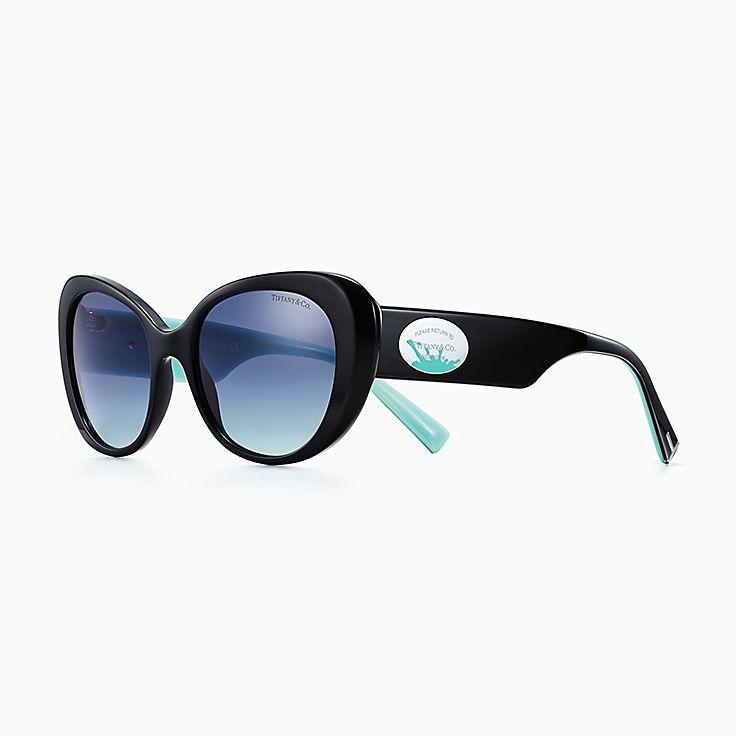 Return to Tiffany™:Color Splash Oval Sunglasses