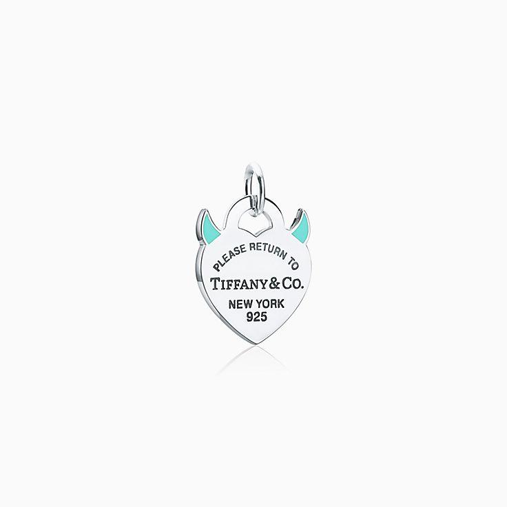 Return to Tiffany®:Devil Heart Tag Charm
