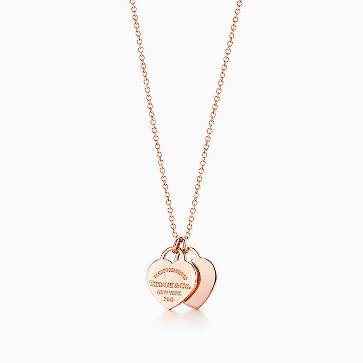 Return to Tiffany™:Double Heart Pendant