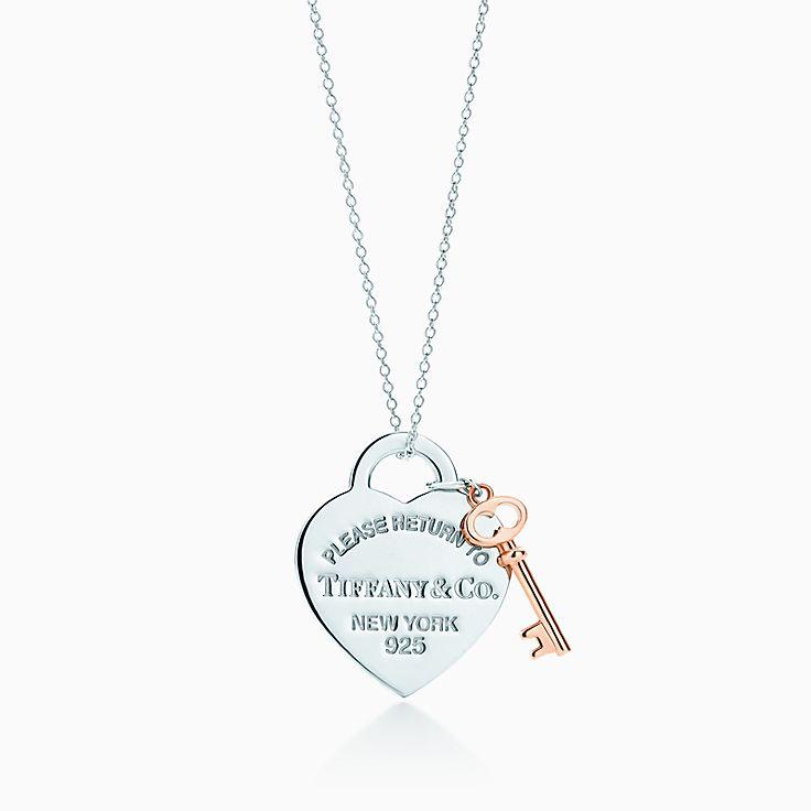 Return to Tiffany™:Heart Key Pendant