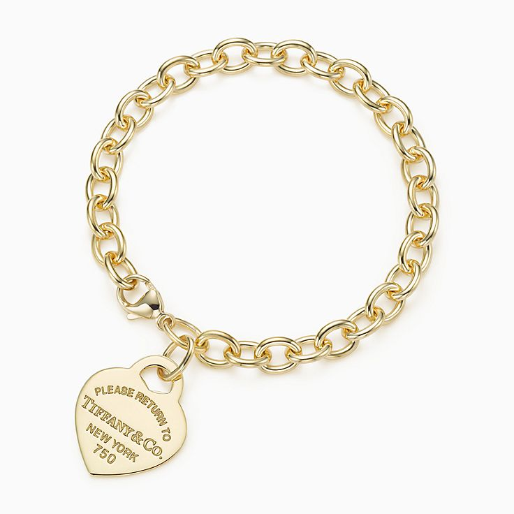 Return to Tiffany™:Heart Tag Bracelet