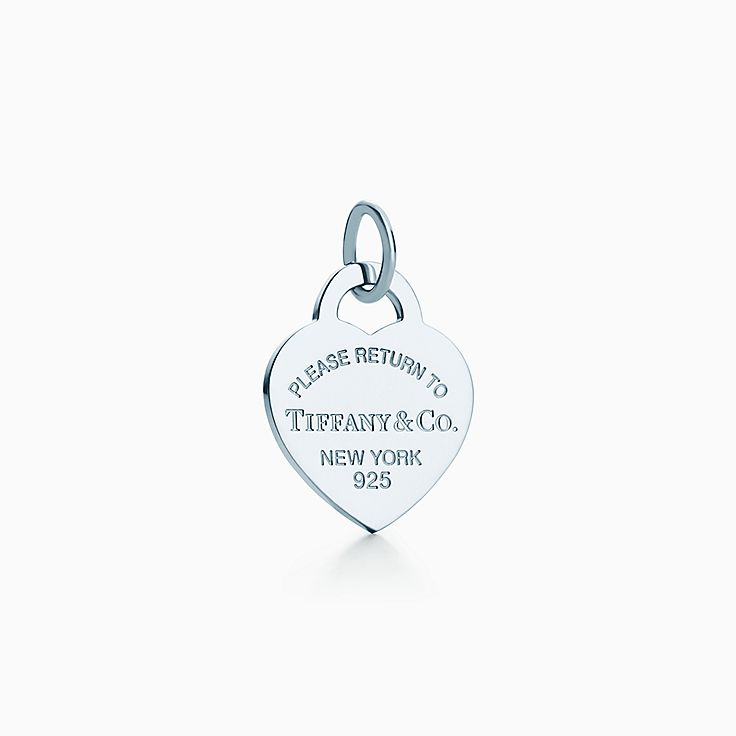 Return to Tiffany®:Heart Tag Charm