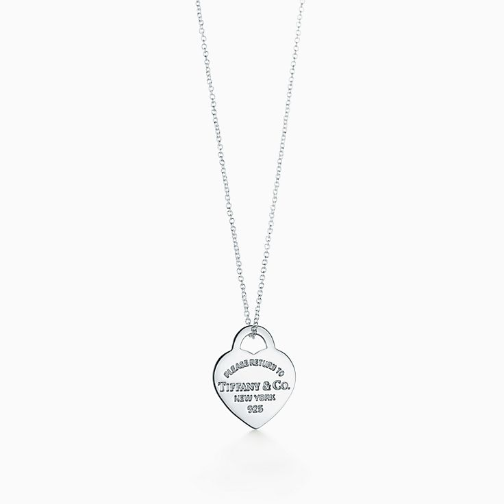 Return to Tiffany™:Heart Tag Pendant