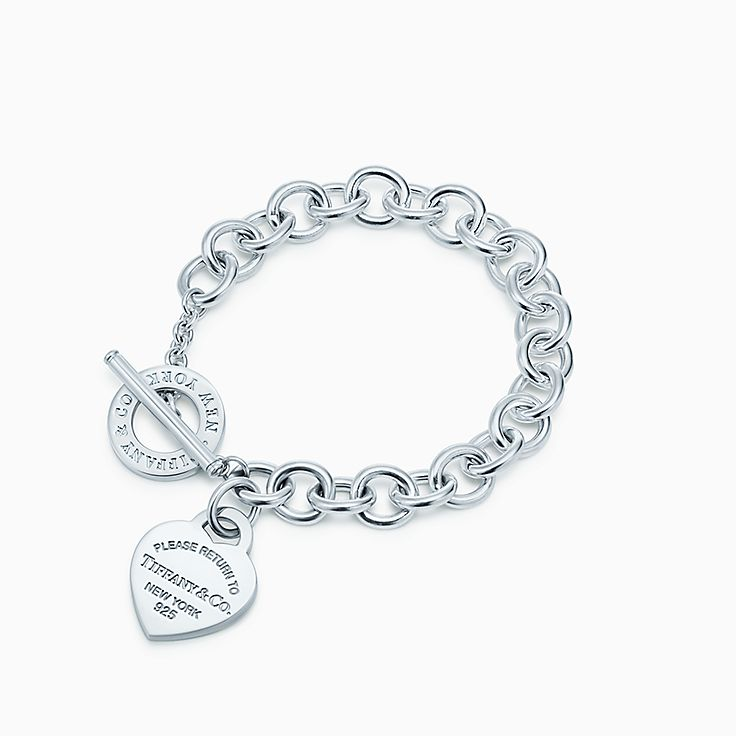 Return to Tiffany™:Heart Tag Toggle Bracelet