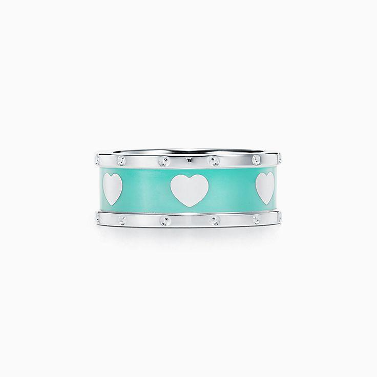 Return to Tiffany™:Love 心心相印戒指