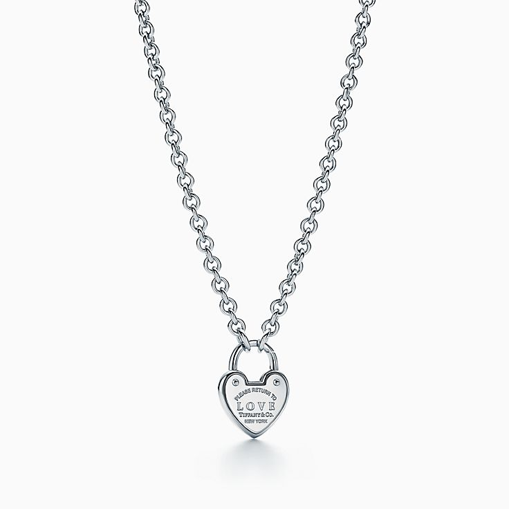 Return to Tiffany®:Love Lock Necklace