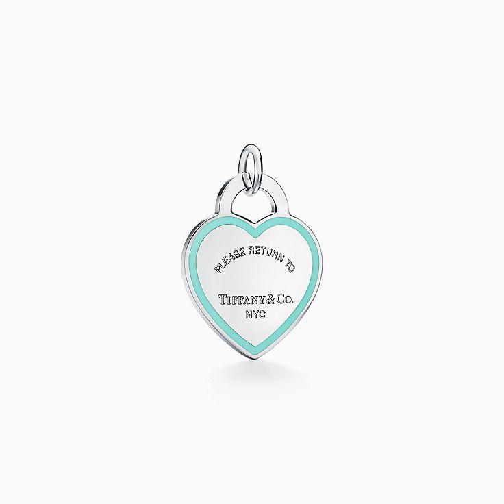 Return to Tiffany(MC):Breloque Plaque en cœur