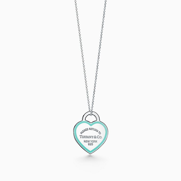 Return to Tiffany(MC):Pendentif Plaque en cœur