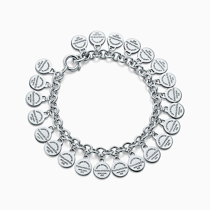 Return to Tiffany™:Multi-round Tag Bracelet