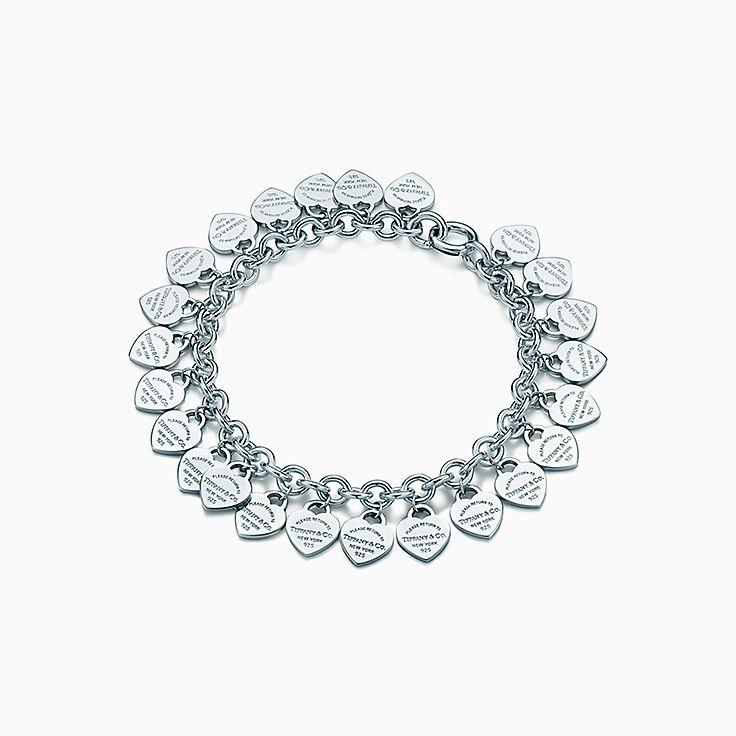 Return to Tiffany™:Multi–heart Tag Bracelet