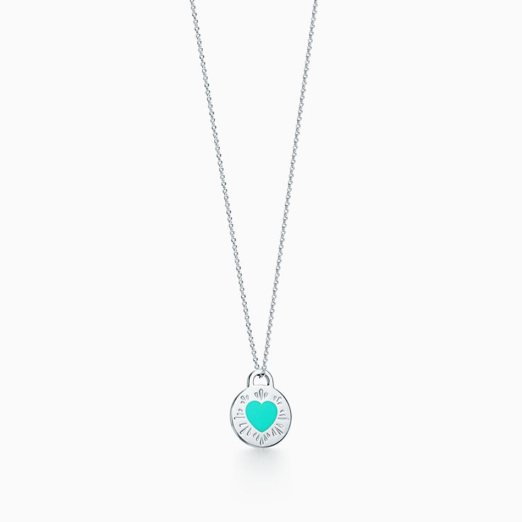 Return to Tiffany™:Round Heart Pendant