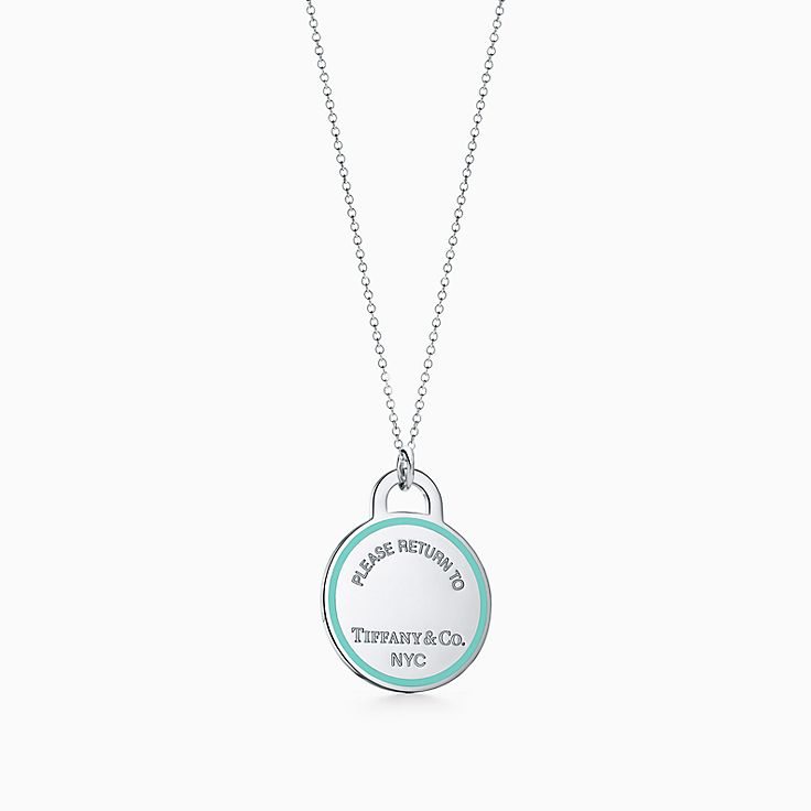 Return to Tiffany®:Round Tag Charm