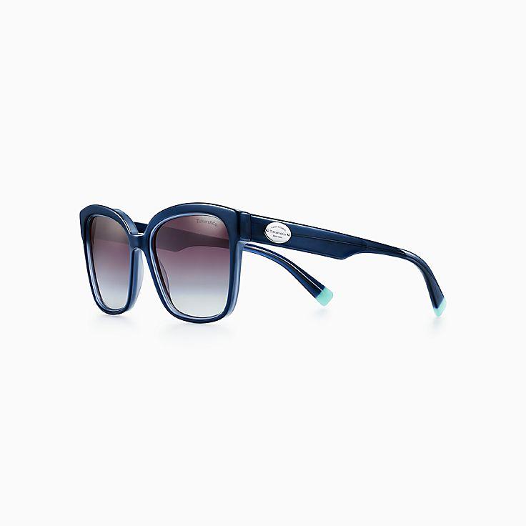 Return to Tiffany®:Square Sunglasses