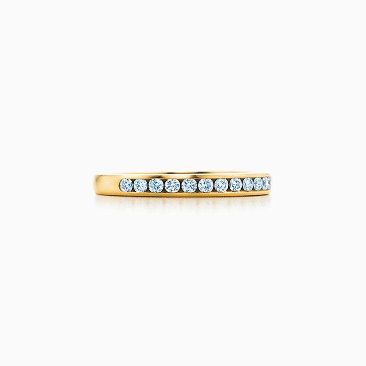 Обручальное кольцо Tiffany® с бриллиантами