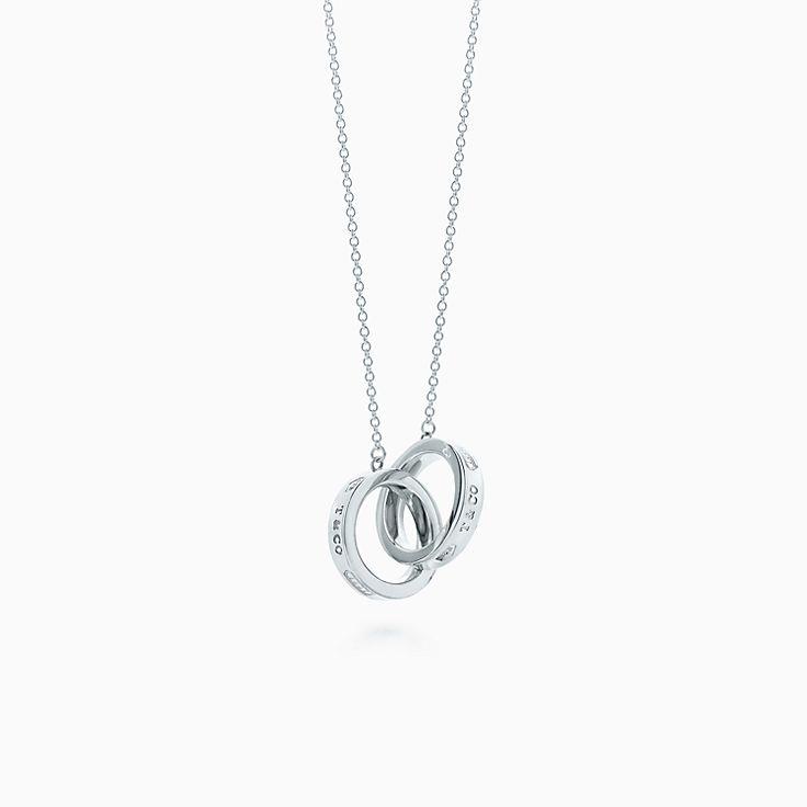 Tiffany 1837™: подвеска в виде переплетающихся колец