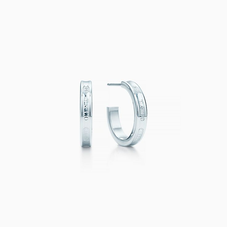 Tiffany 1837™:圈形耳環