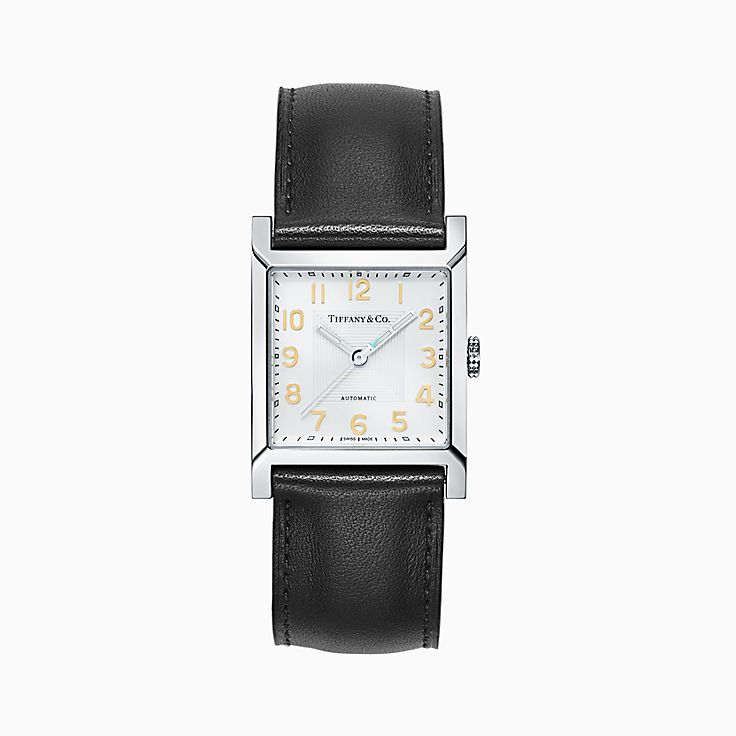Tiffany 1837 Makers:Квадратные часы 27мм