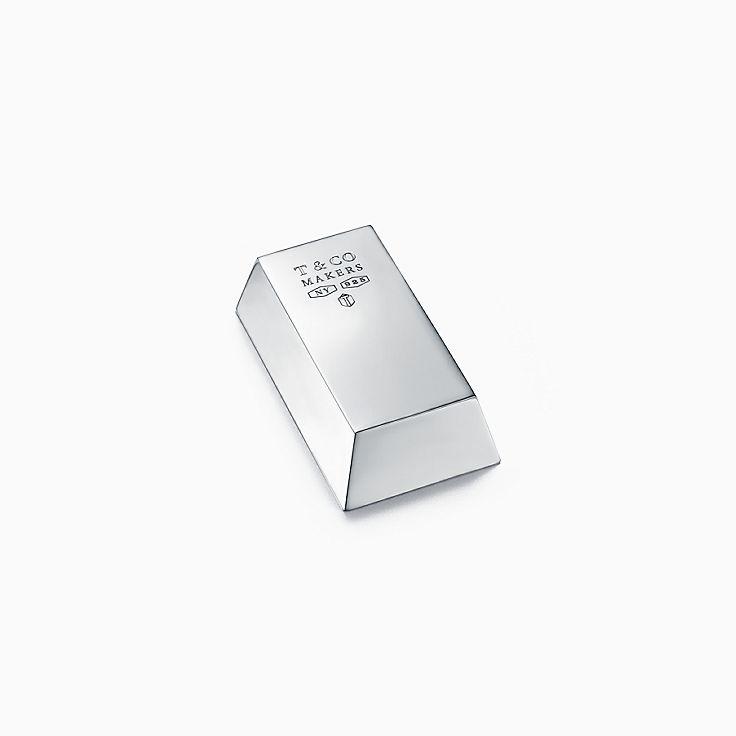 Tiffany 1837™:Пресс-папье Makers из стерлингового серебра