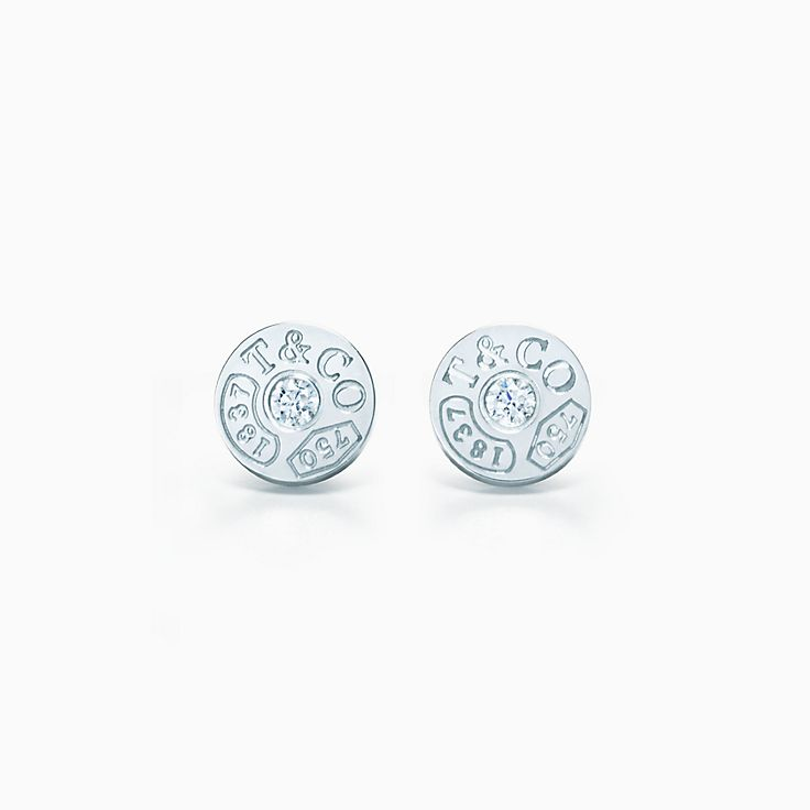 Tiffany 1837™:Circle Earrings