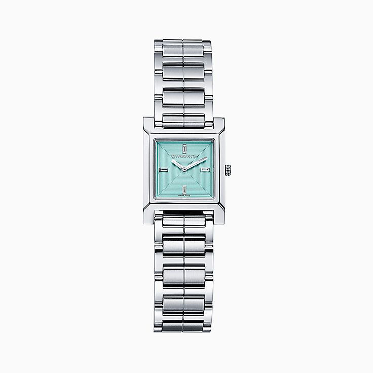 Tiffany 1837:Makers 22 mm Square Watch