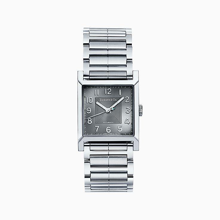 Tiffany 1837:Makers 27 毫米方形腕錶