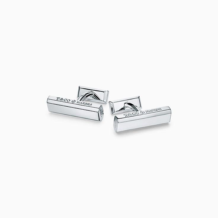 Tiffany 1837™:Makers Запонки в виде планок из стерлингового серебра