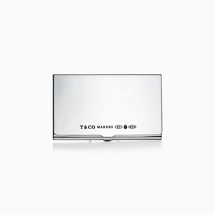 Tiffany 1837:Makers Card Case in Sterling Silver