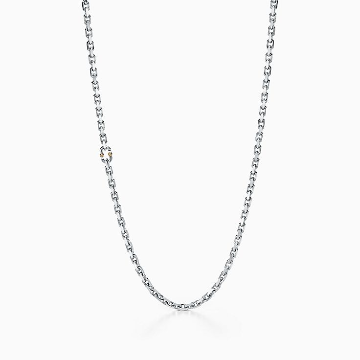 Tiffany 1837™:Makers Chain Necklace in Sterling Silver, 24""