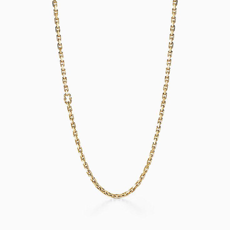 Tiffany 1837™:Makers Gliederkette in 18KaratGold, 60,9cm