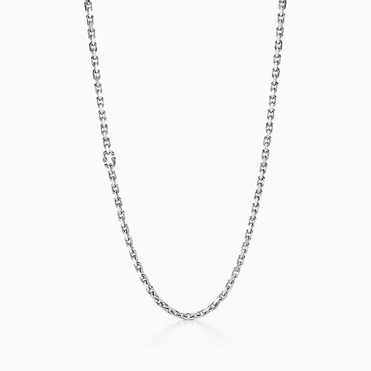 Tiffany 1837™:Makers Gliederkette in Sterlingsilber, 60,9cm