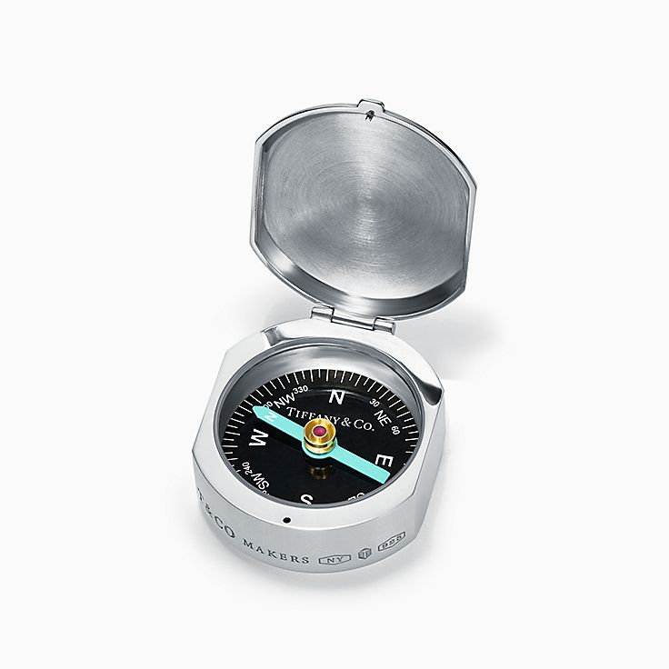 Tiffany 1837™:Makers Kompass in Sterlingsilber