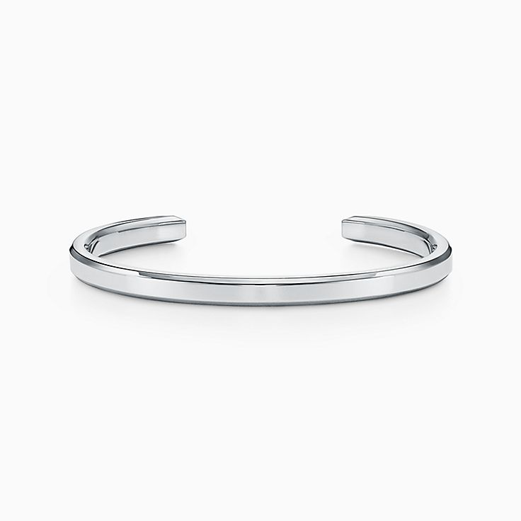 Tiffany 1837™:Makers Narrow Cuff in Sterling Silver