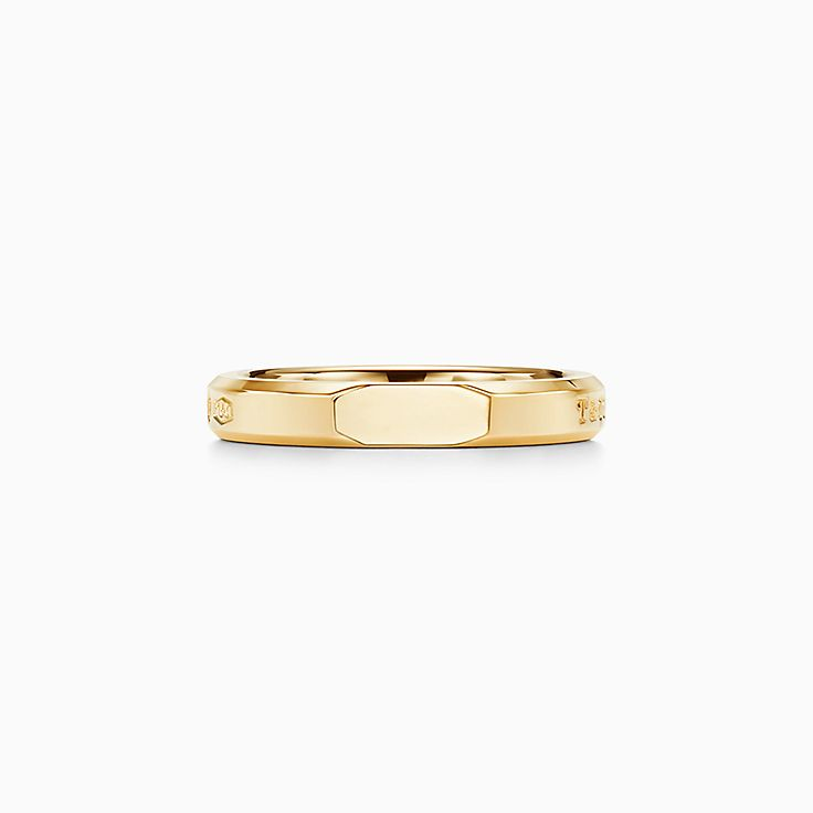 Tiffany 1837™:Makers Narrow Slice Ring in 18k Gold