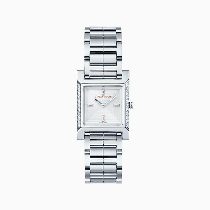 Tiffany 1837:Montre carrée Makers 22mm