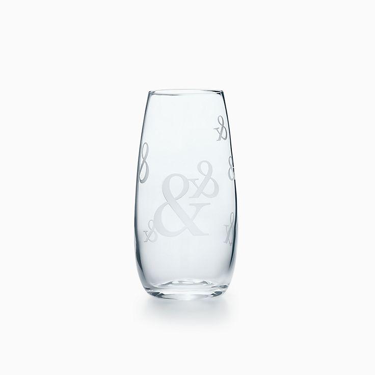 Tiffany Ampersand: Vaso largo para champán en cristal