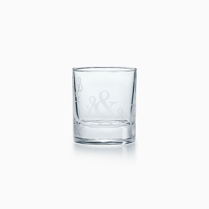 Tiffany Ampersand:Crystal Single Old-fashioned Glass