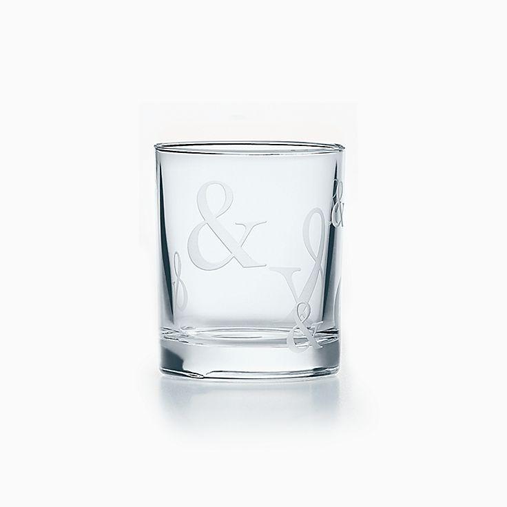 Tiffany Ampersand:Vaso de chupito de cristal