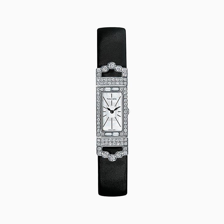 Tiffany Art Déco:Reloj de 15,8 x 49mm con 2 manecillas