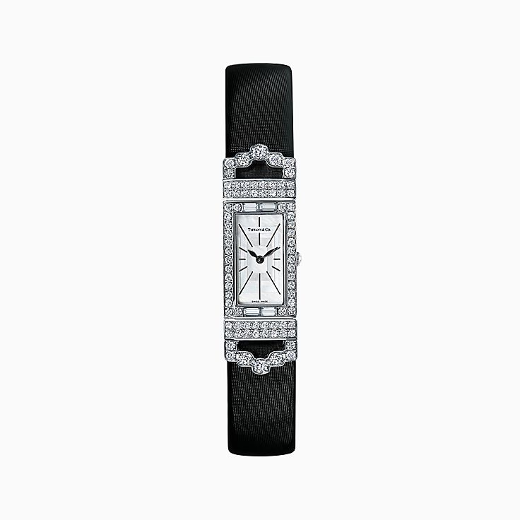 Tiffany Art Deco 2-Hand 15.8 x 49 mm Watch