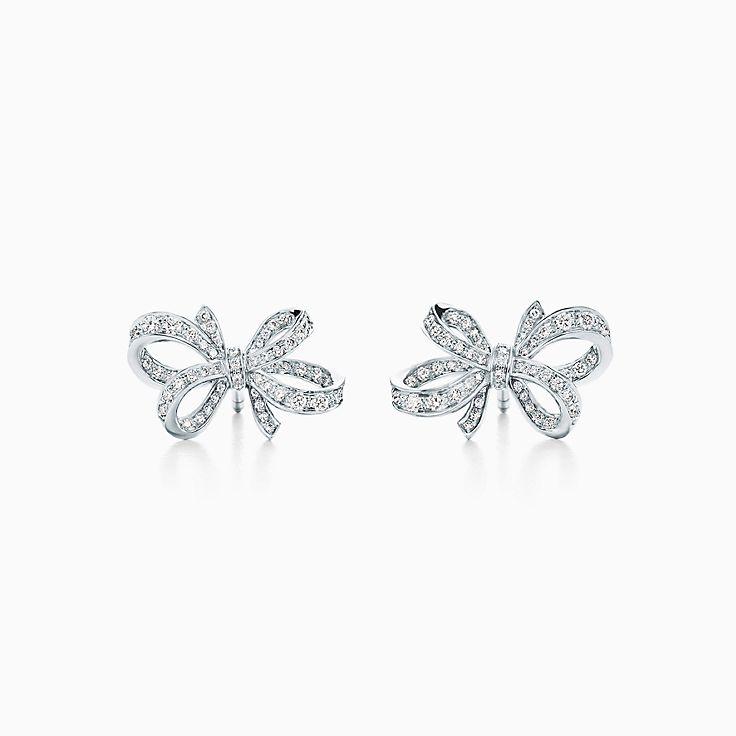 Tiffany Bow: brincos Ribbon