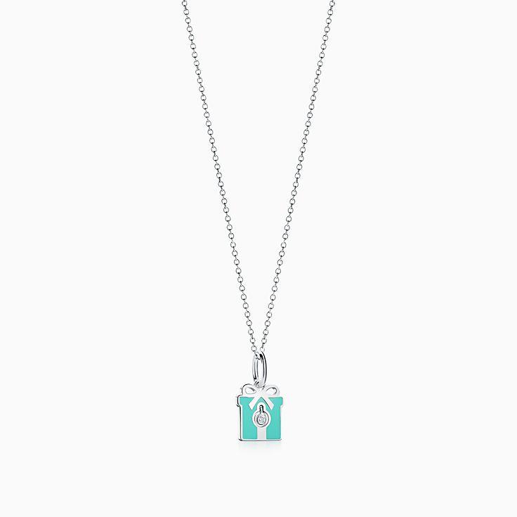 Tiffany Charms:鑽石盒吊飾
