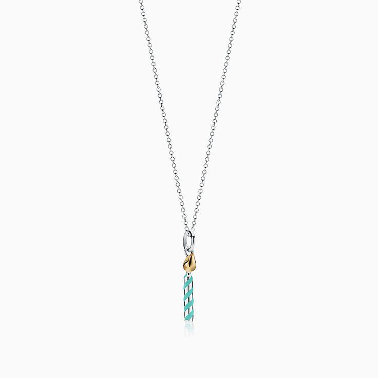Tiffany Charms:生日蠟燭吊飾